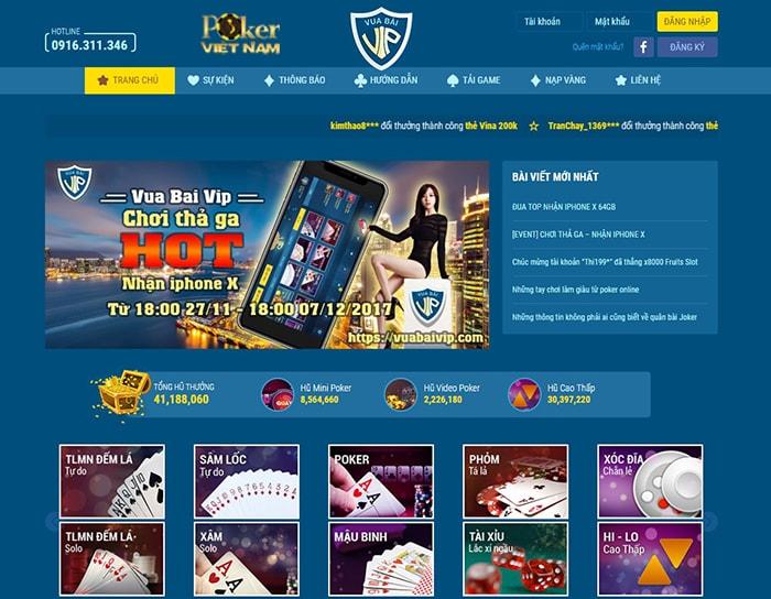 Chơi poker online - Vuabaivip