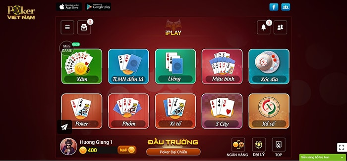Chơi poker online kiếm tiền - Iplay