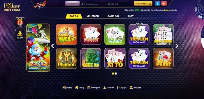Chơi bài poker  - Helyclub