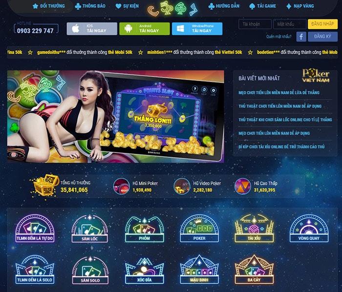 Chơi game bài poker - C567vip