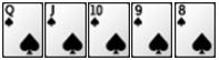 Luật chơi Poker - thùng phá sảnh