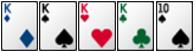 Luật chơi Poker - tứ quý