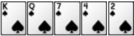Luật chơi Poker - thùng
