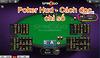 Poker HUD: Cách đọc chỉ số trong Poker
